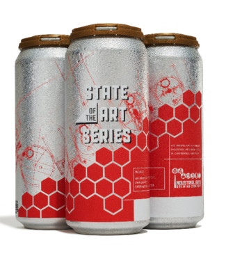 Industrial Arts Industrial Arts State of the Art: Orange DIPA (4p 16oz cans)