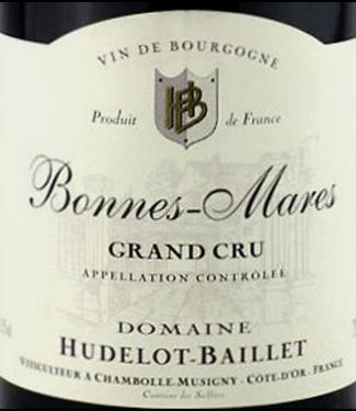 Domaine Hudelot-Baillet Hudelot Bailet Bonnes Mares Grand Cru 2013