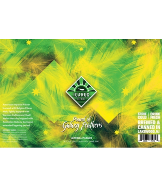 Icarus Icarus Pound of Galaxy Feathers (4pk 16oz cans)