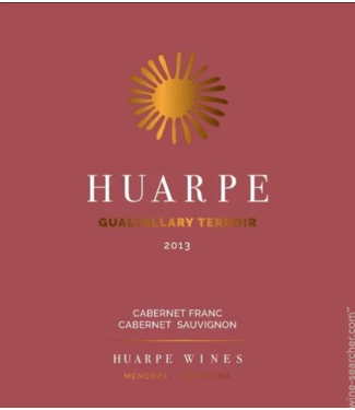 Bodegas y Vinedos Huarpe-Winery Selection Gualtallary Red Blend
