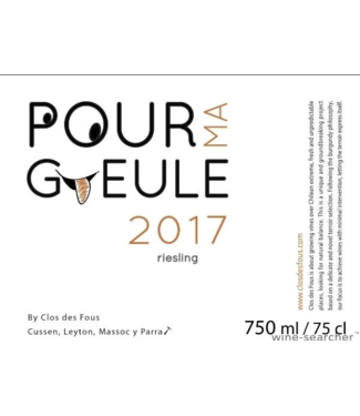 Clos des Fous, Riesling Pour Ma Gueule Itata Valley