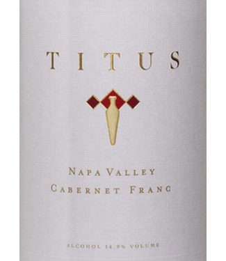 Titus Titus Reserve Cabernet Franc 2016