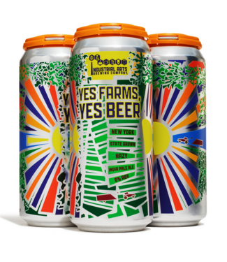 Industrial Arts Industrial Arts Yes Farms, Yes (4pk 16oz cans)