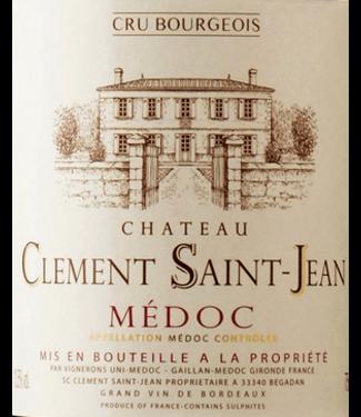 Clement Saint-Jean Clement saint Jean Medoc  Cru Bourgeois
