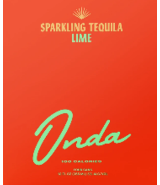 Onda Onda Sparkling Tequila Lime (4pk 12oz can)