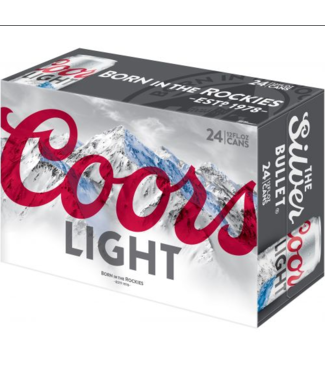 Coors Coors Light (24pk 12oz cans)