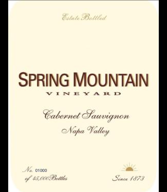 Spring Mountain Spring Mountain Vineyard, Cabernet Sauvignon Estate Bottled Napa Valley (2013)