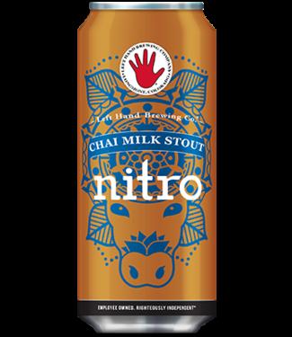 Left hand Left Hand Nitro Chai Milk Stout (4pk 16oz cans)