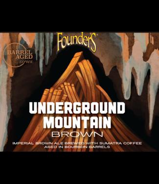 Founders Founders Underground Mountain Brown (4pk 12oz bottles)