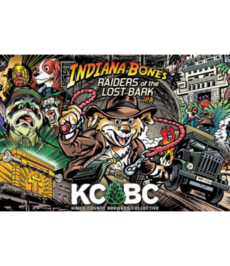 KCBC KCBC Indiana Bones and the Raiders of the Lost Bark (4pk 16oz cans)