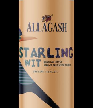 Allagash Allagash Starling Wit (4pk 16oz cans)