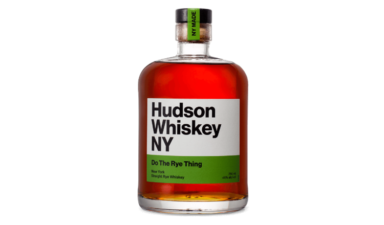 Hudson Hudson Whiskey NY Rye Whiskey Do The Rye Thing 750ml