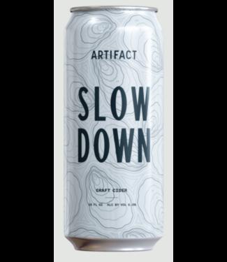 Artifact Cider Artifact Slow Down (4pk 16oz cans)