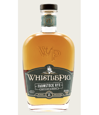 Whistle Pig Whistle Pig Farmstock Rye 003 750ml