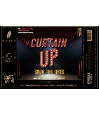 Icarus Icarus Curtain Up (4pk 16oz cans)