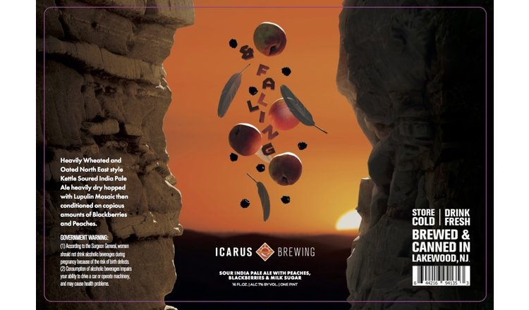 Icarus Icarus & Falling (4pk 16oz cans)
