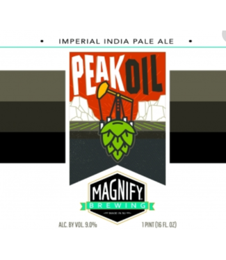 Magnify Magnify Brewing Peak Oil (4pk 16oz cans)