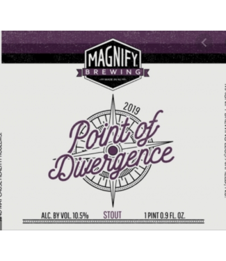 Magnify Magnify Brewing Point of Divergence 2020 (500ml bottle)