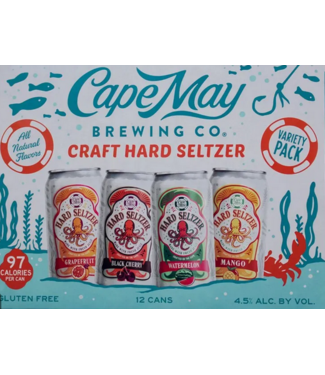 Cape May Cape May Seltzer Variety Pack (12pk 12oz cans)