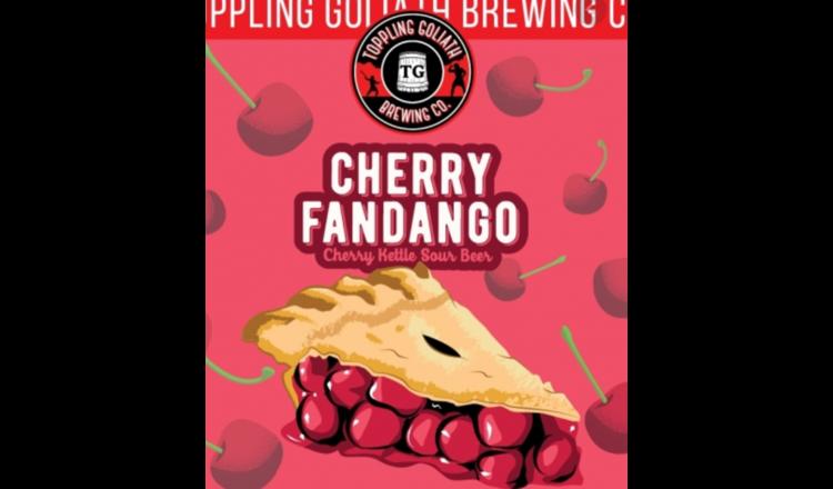 Toppling Goliath Toppling Goliath Cherry Fandango (4pk 16oz cans)