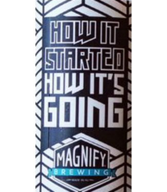 Magnfy Magnify How it Started Hows it Going? (4pk 16oz cans)