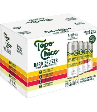 Topo Chico Topo Chico Hard Seltzer Variety Pack (12pk 12oz cans)