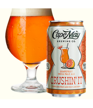 Cape May Cape May Brewing Grapefruit Crushin it (6pk 12oz cans)