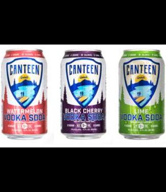 Canteen Spirit Vodka Soda Variety (12pk 12oz cans)