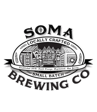 Soma Two Towns Amber Ale (4pk 16oz cans)