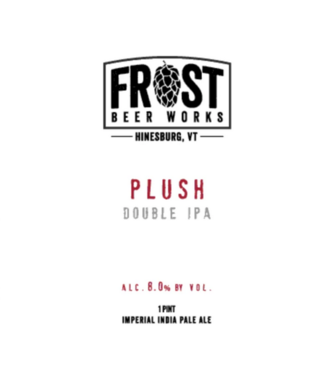 Frost Brewing Plush (4pk 16oz  cans)