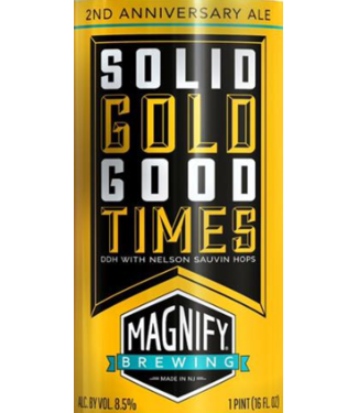 Magnify Magnify Solid Gold Good Times (4pk 16oz cans)