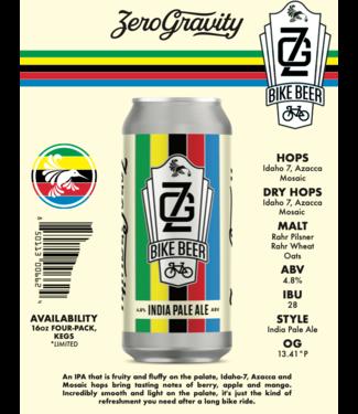 Zero Gravity Zero Gravity Bike Beer ( 4pk 16oz cans)