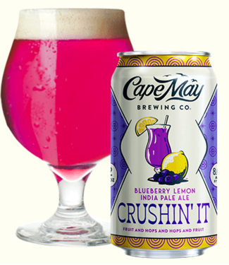 Cape May Cape May Brewing Blueberry Lemon Crushin it (6pk 12oz cans)