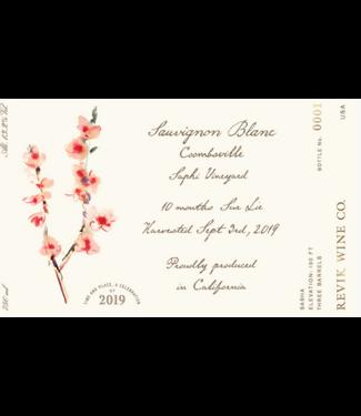 Revik wine co Revik Sauvignon Blanc Saphi Vineyard 2019
