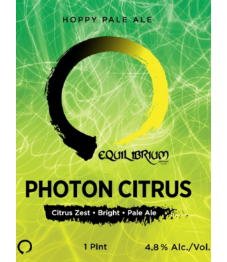 Equilibrium Equilibrium Photon Citrus (4pk 16oz cans)