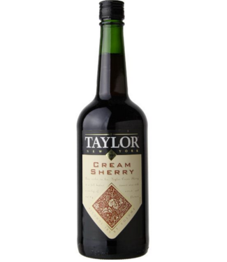 Taylor Cream Sherry New York port 750ml