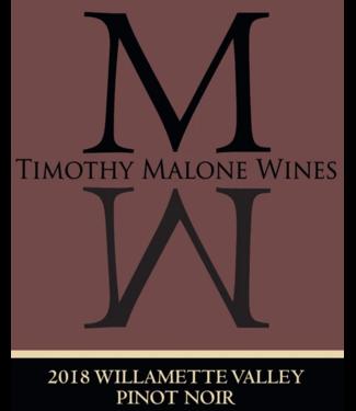 Timothy Malone Pinot Noir Willamette Valley 2018