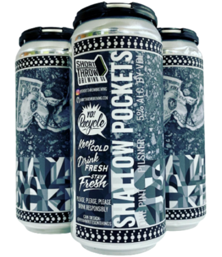 Short Throw Shallow Pockets ( 4pk 16 oz cans)