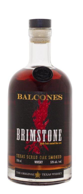 Balcones Brimstone 750ml
