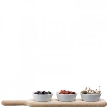LSA - Bowl Set & Oak Paddle