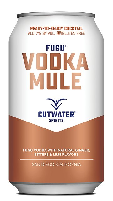 Cutwater Vodka Mule (4pk 12oz can)