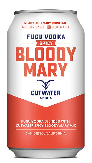 Cutwater Spicy Bloody Mary (12oz can)