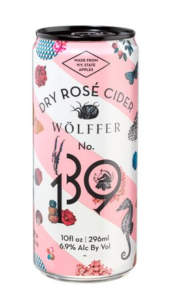 Wolffer Dry Rose Cider (4pk 10oz cans)