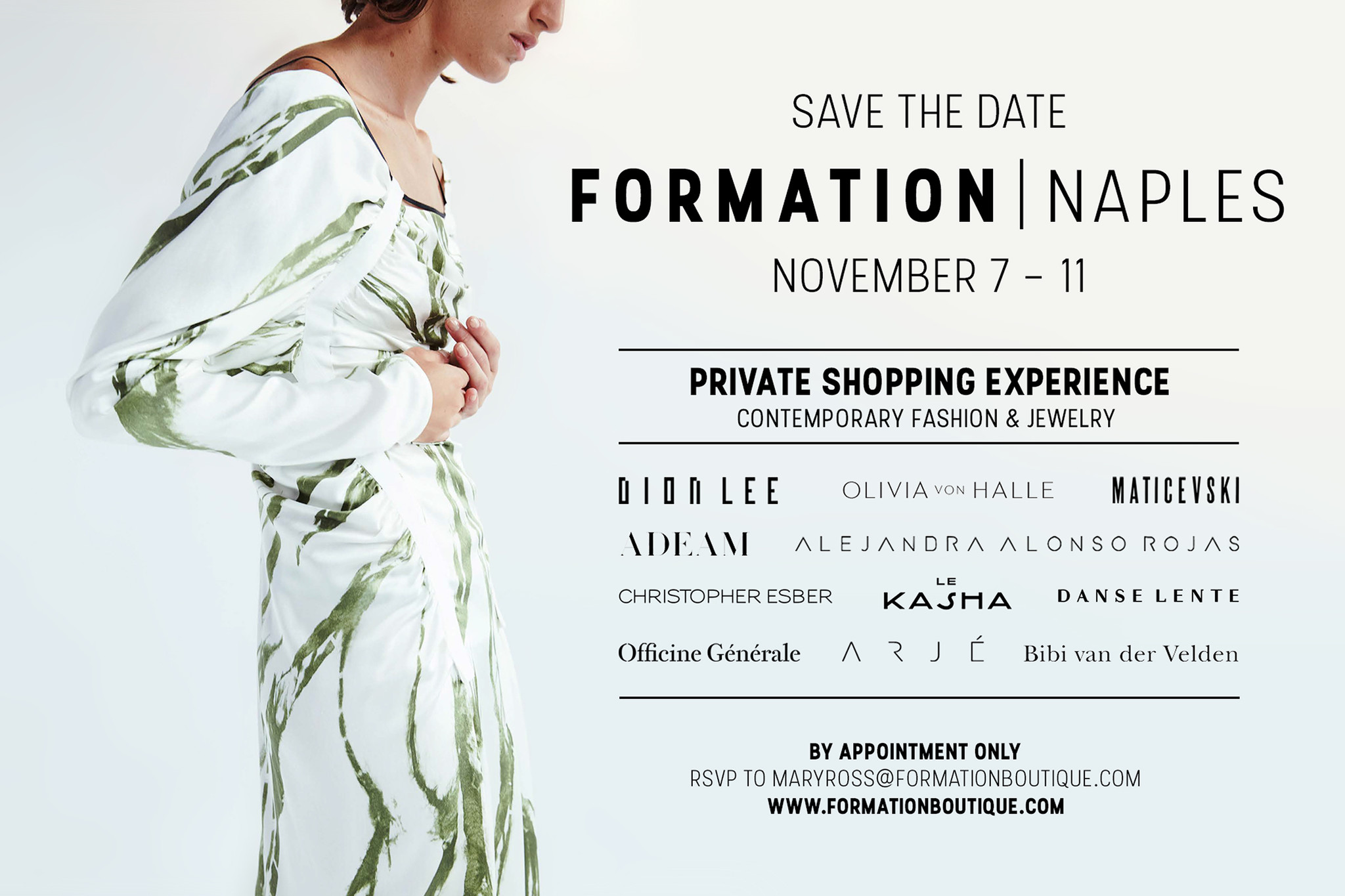 Formation Private Shopping Naples