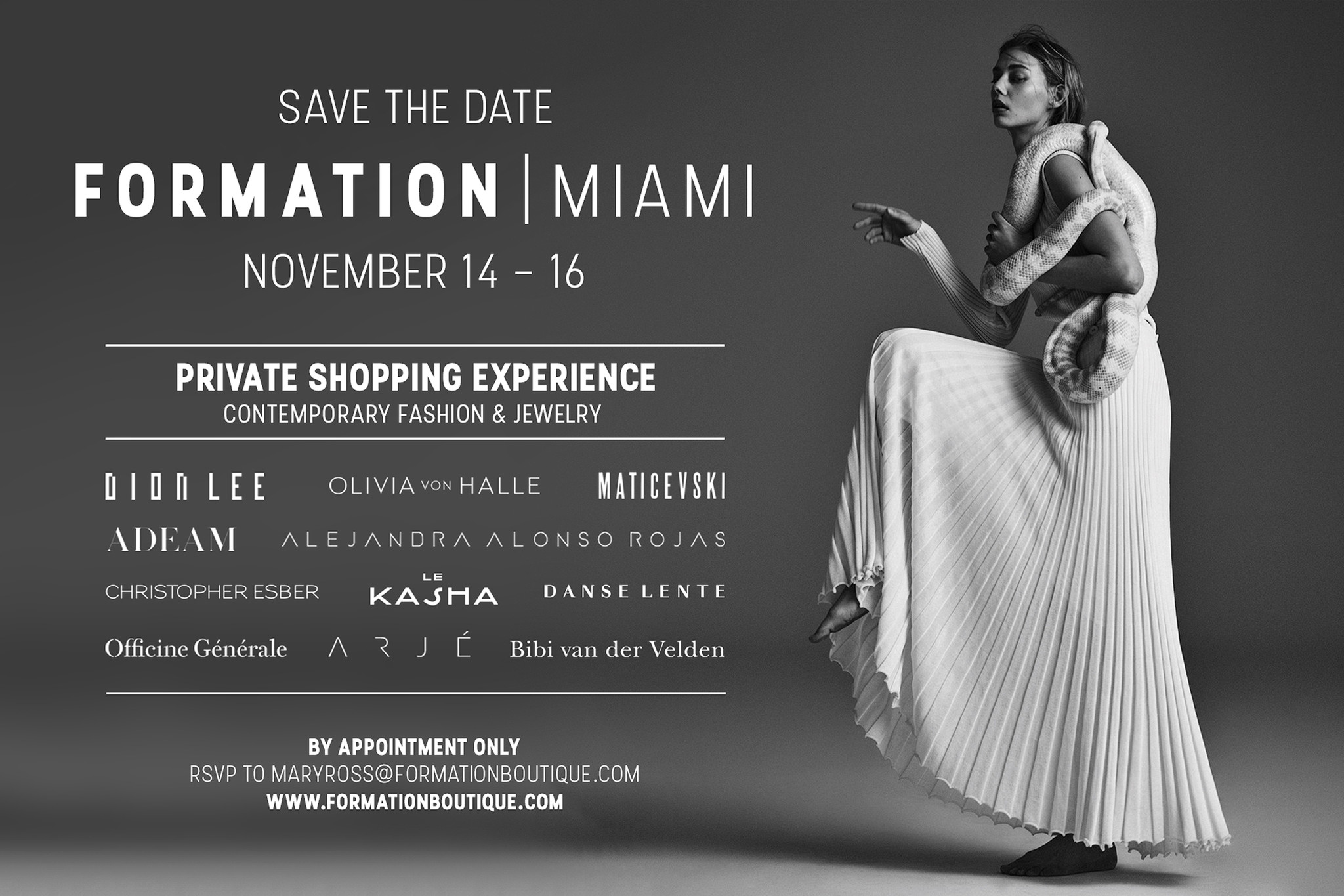 Formation Private Shopping Miami