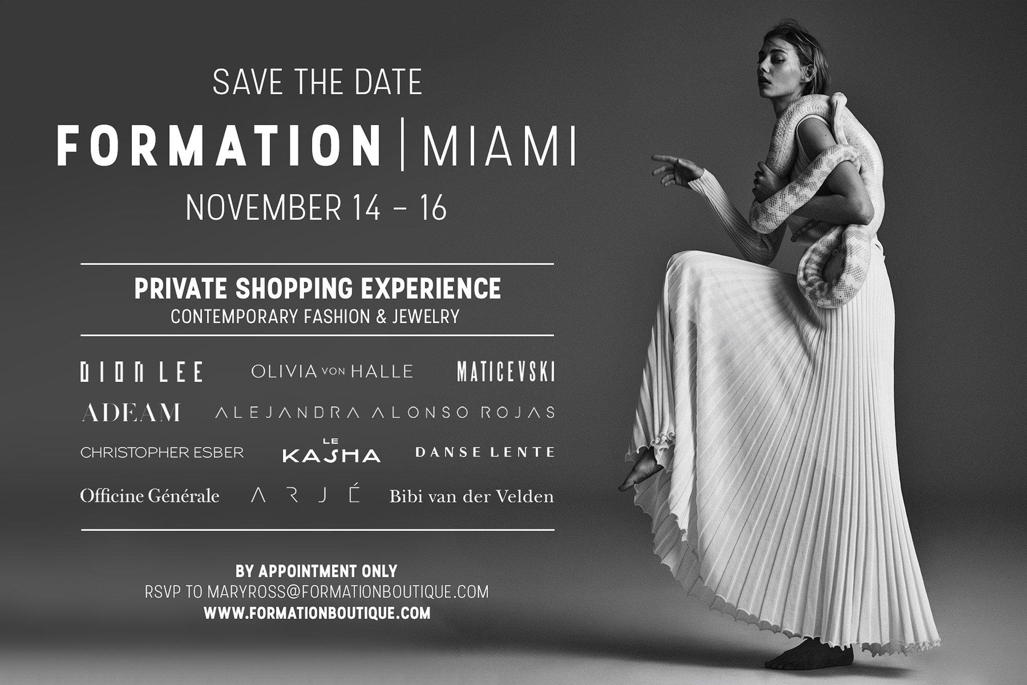Formation Private Shopping Miami