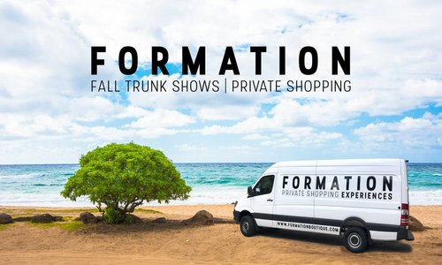 Save the Date | Formation FW18 Private Shopping Experiences
