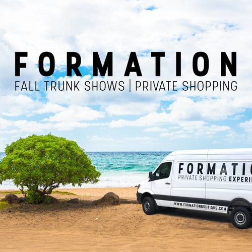 Save the Date   Formation FW18 Private Shopping Experiences