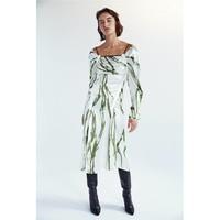 Christopher Esber Incline Taped Longsleeve Dress