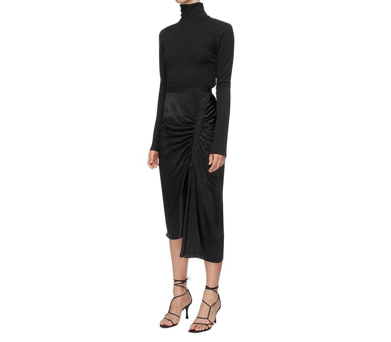 Christopher Esber Gathered Back Turtleneck Top
